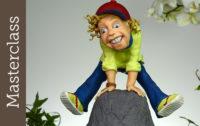 Jump Masterclass Key for Cakes - Charakteristische Gesichtsausdrücke leicht modelliert, Karikaturen aus Fondant und Modellierfondant