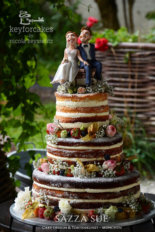 Romantische Reise In Die Ehe Hochzeitstorten Topper Key For Cakes