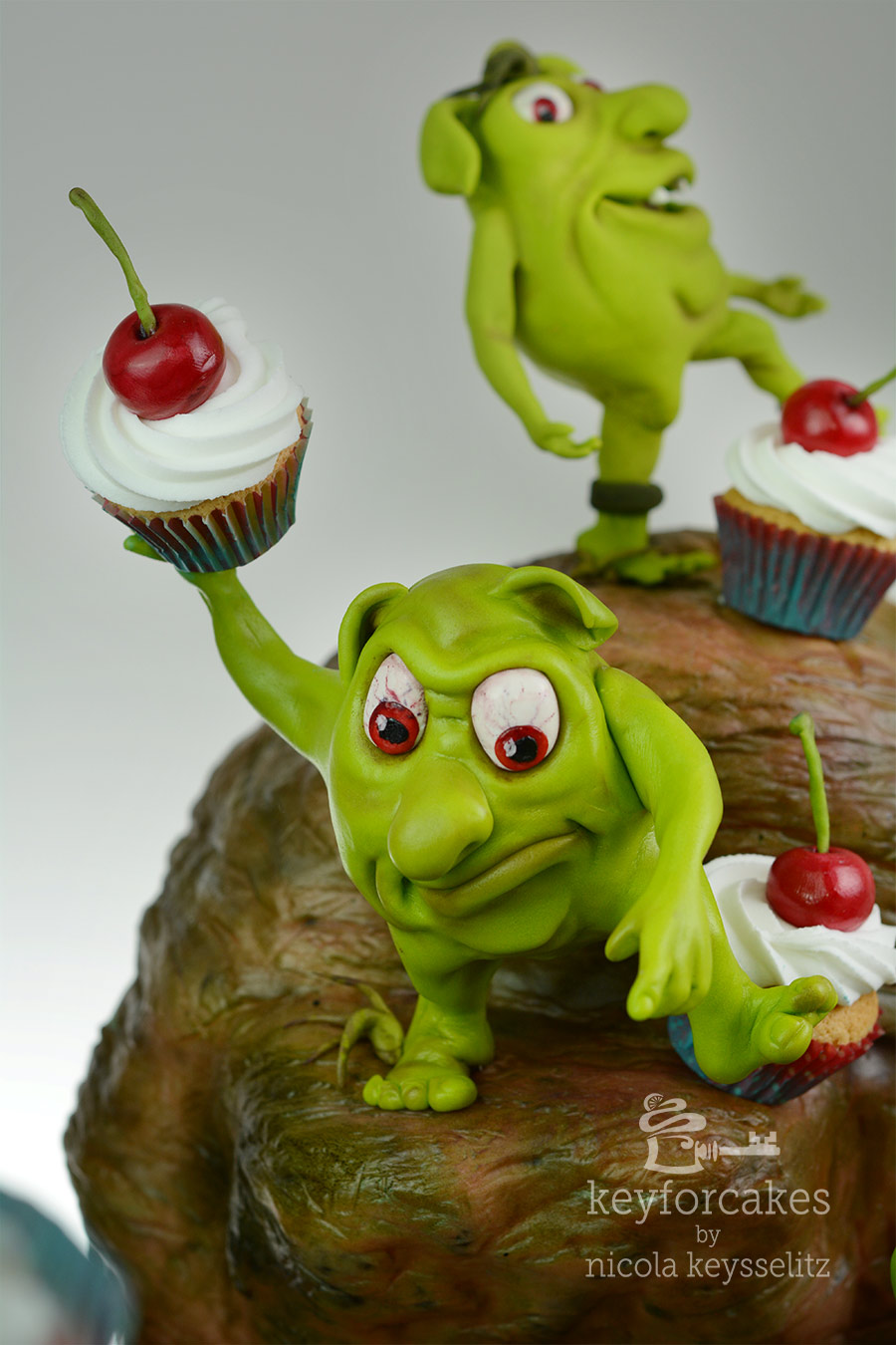 Collaboration by Caketastics Redeyes Monsters in a Monsterstory