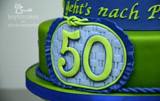 Auftragsarbeit Prag Reise Gutschein zum 50. Geburtstag