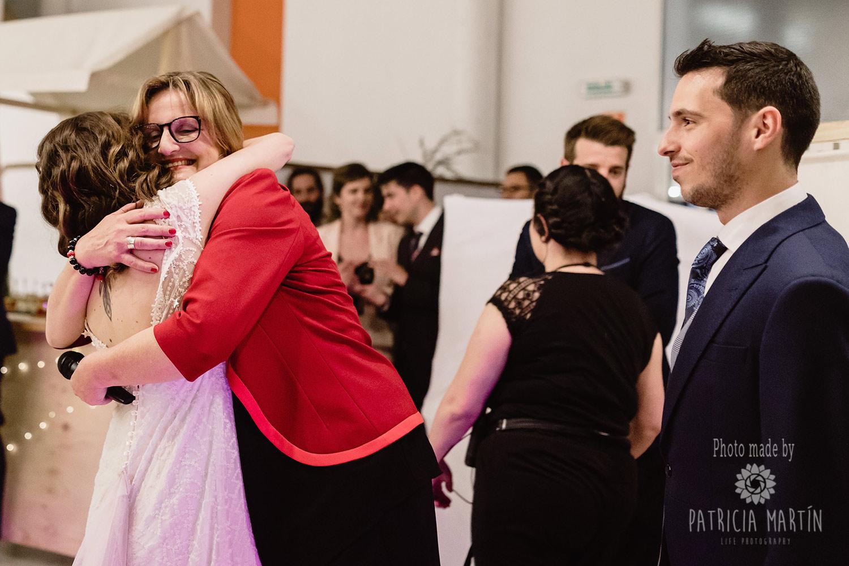 Moment nach der Rede an das Brautpaar