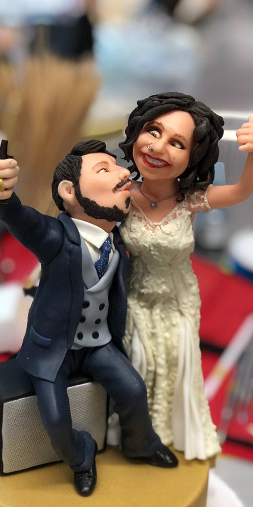 Making of - Hochzeitstorten-Topper