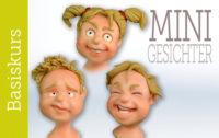 Basis Modellierkurs mit Fondant - Mini Gesichter